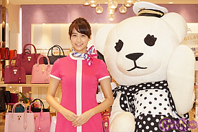 Samantha Thavasa Fa-So-La TAX FREE HARAJUKUオープニングセレモニーより