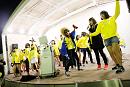 カラオケ大会では、前年の4周年イベントのカラオケステージでもマイクを離さなかった岡本尚子のテンションが最高潮に。