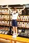 HKT48最 年少の13歳・今村麻莉愛による朝の体操